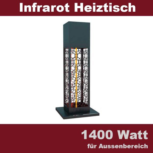 infrarot bistro heiztisch warm