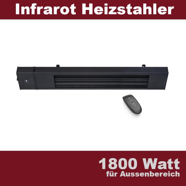 Dunkelstrahler 1800 Watt Terrassen Infrarot Heizstrahler